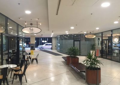 347 Kent Street – Round Panel Light Installation