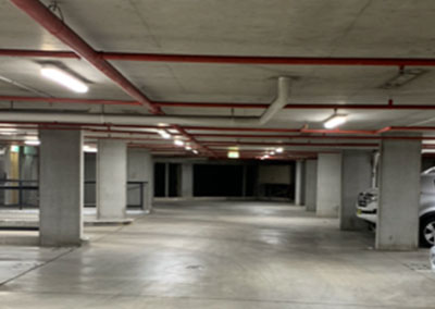 Darlington Apartments Piermont – Car Park & Fire Stairs Lighting